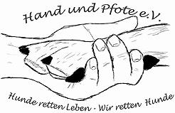 Logo des Hand und Pfote e. V.